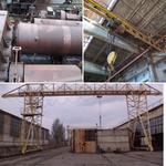 Ремонт и обслуживание погрузочно-разгрузочного  оборудования (тельфера, кран балки, лебедки тяговые, мех лопаты…)