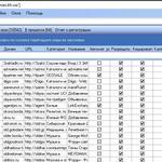 Прогон сайта с помощью программы AllSubmitter