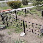 Производство оградок на кладбище
