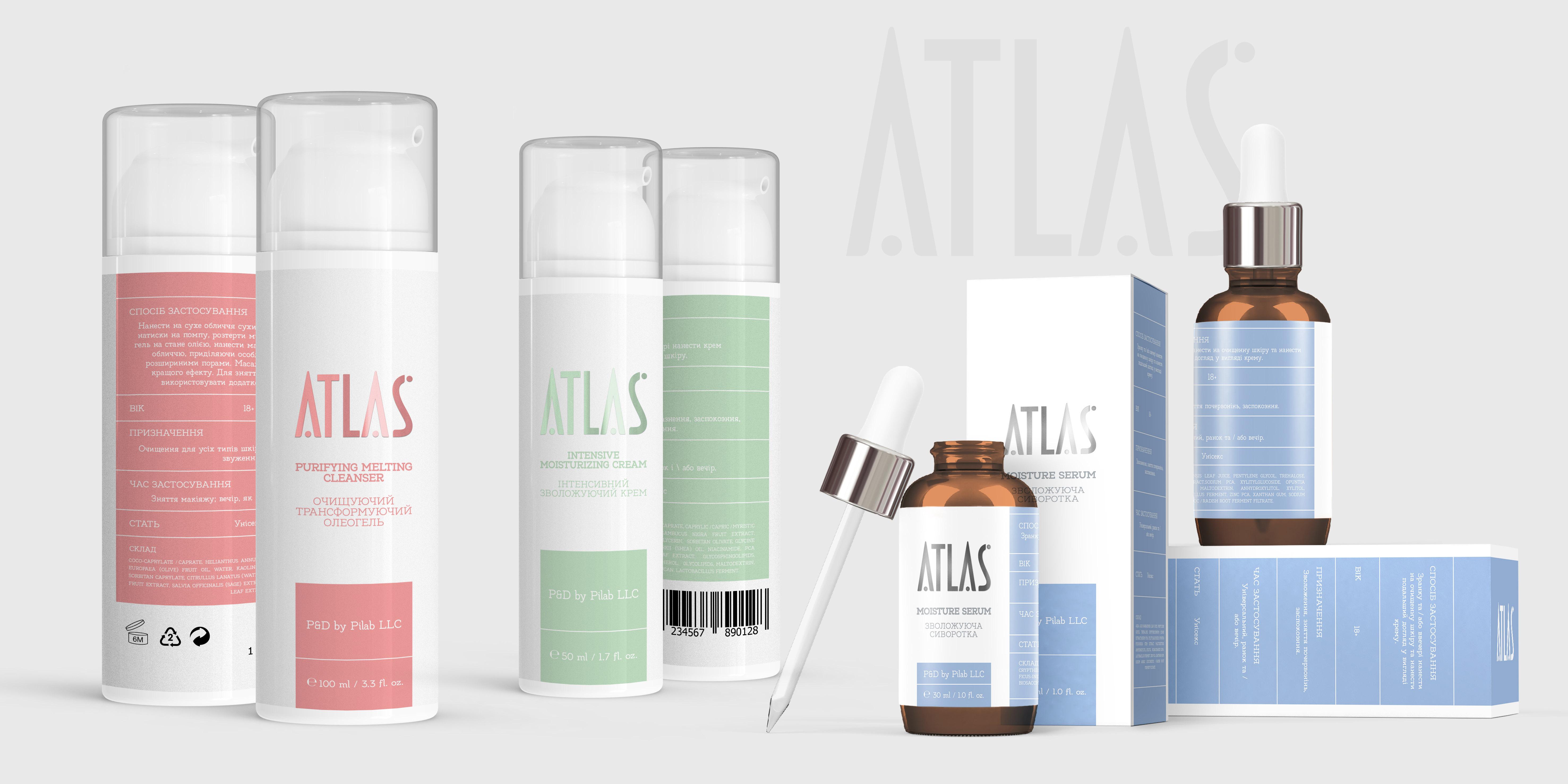 Фото Дизайн этикеток и упаковки для косметики