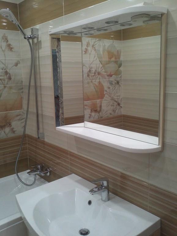 Фото Монтаж сантехники Ravak в комплексе (ванна, зеркальный шкафчик, подвесной мойдодыр, подвесной унитаз на инсталяцию Grohe.