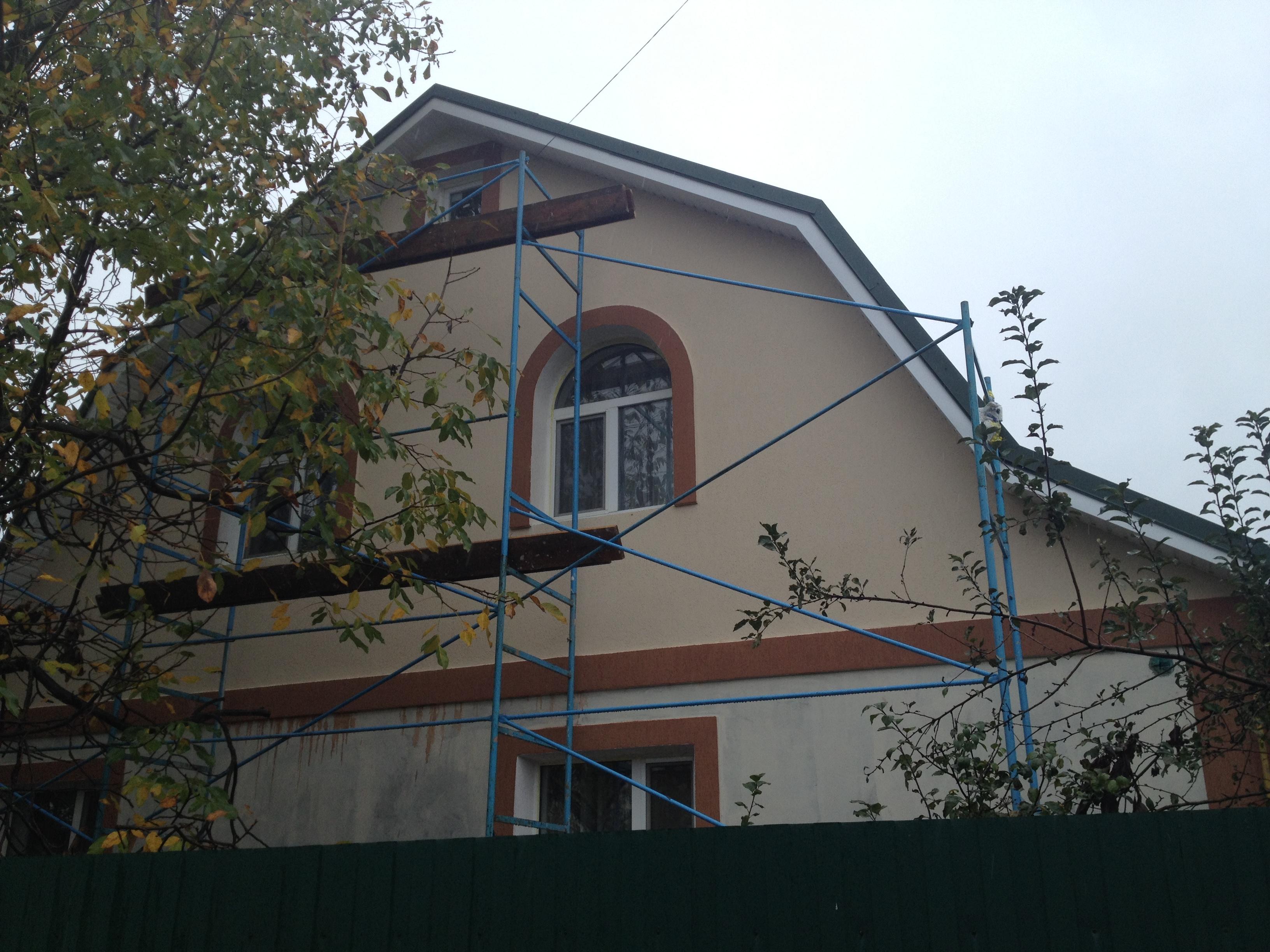 Фото Утепление домов, котеджей. Фасадные работы. 150 грн/м 2