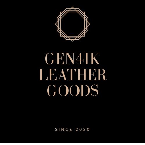 Фото Такой логотип был разработан мной для магазина кожаных изделий ручной работы.