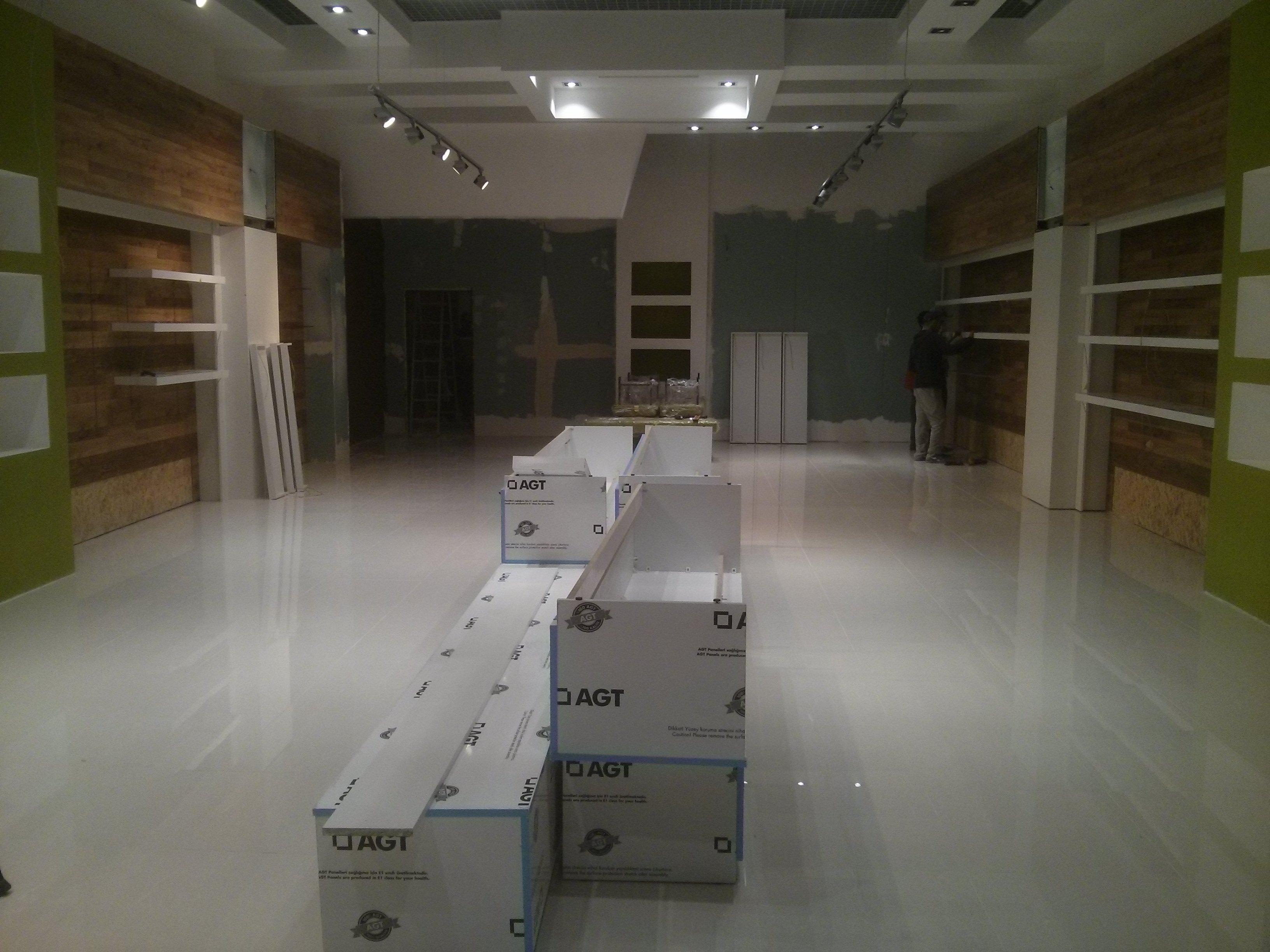 Фото уборка помещения  200 м2 (после)