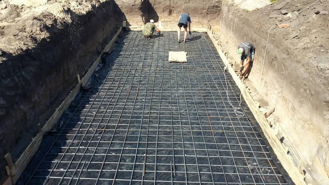 Фото Все бетонные работы при установке бассейна.Общий срок 20 дней.