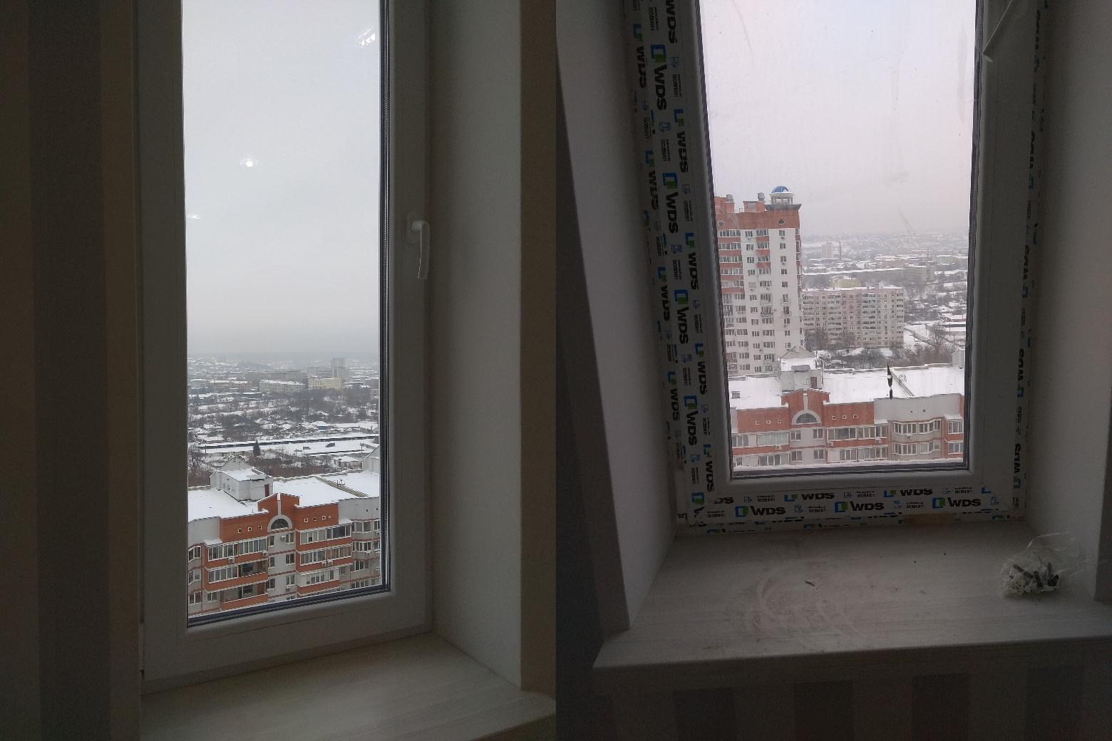 Фото Уборка после ремонта 2к квартиры 76кв.м. мойка панарамных окон, балкона, всех окон, плитки в ванной. В работе использованы профессиональные моющие средства и пароочиститель. Было потрачено 12 часов. Стоимость составила 1000грн