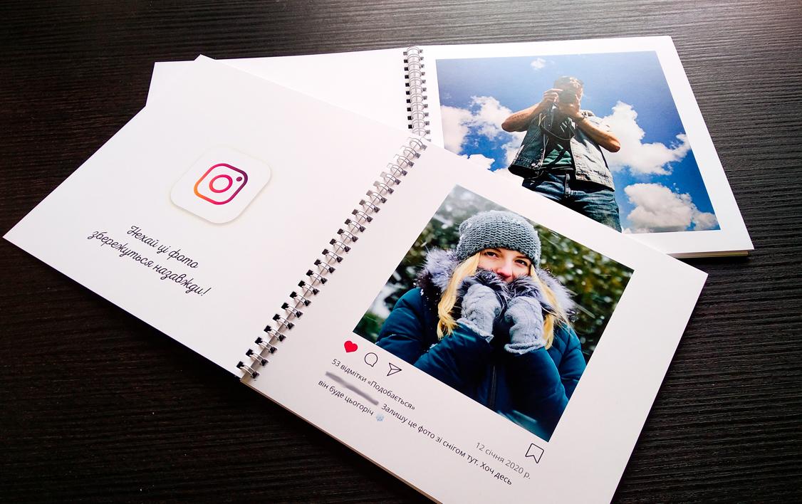 Фото Дизайн та друк яскравих фотоальбомів