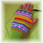 Ручное вязание крючком или спицами: шапочки, пинетки, миттенки, гетрики