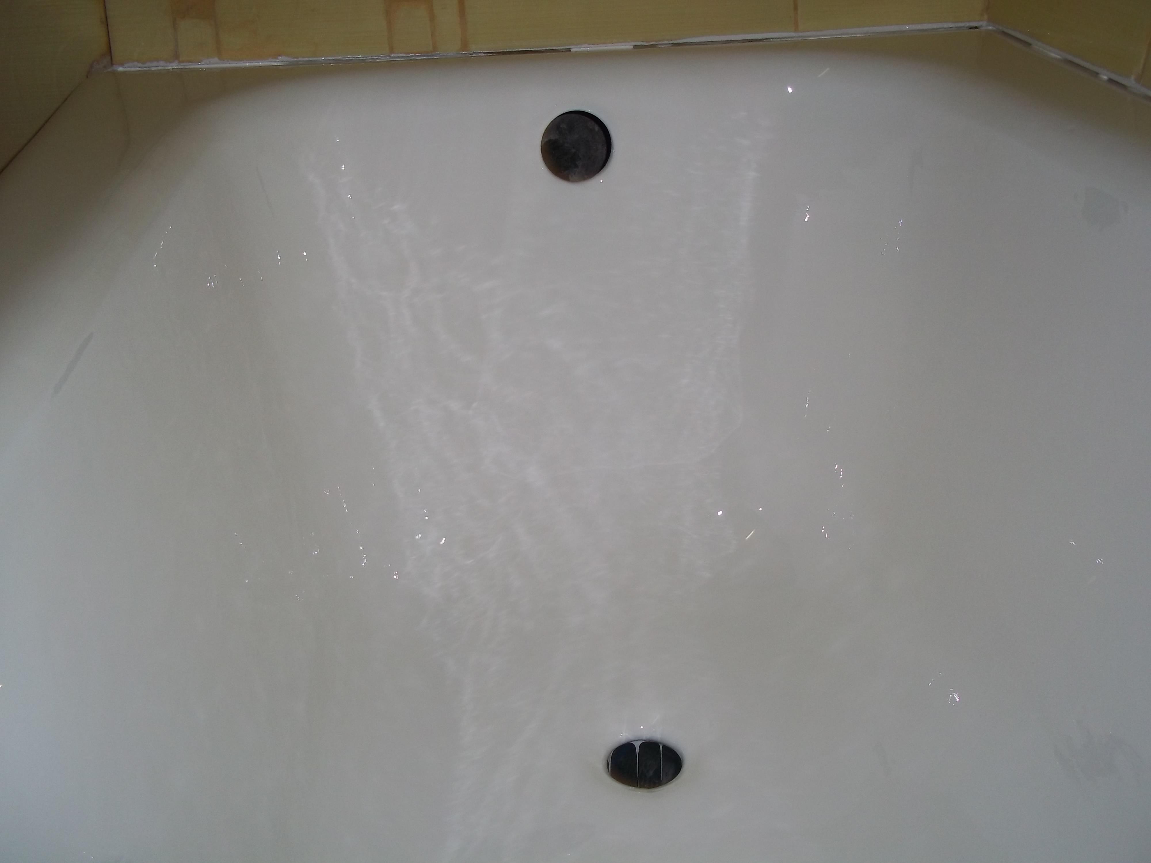 """Фото Реставрация. Метод """"Наливная ванна"""""""