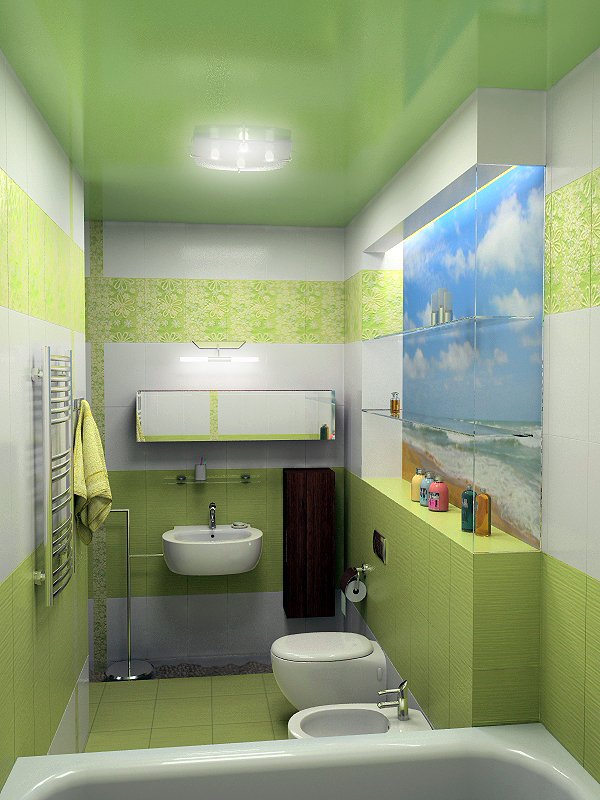 Фото Дизайн интерьера квартиры. Дизайн санузла