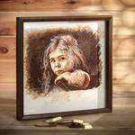 Картины маслом и др. материалами. Портреты