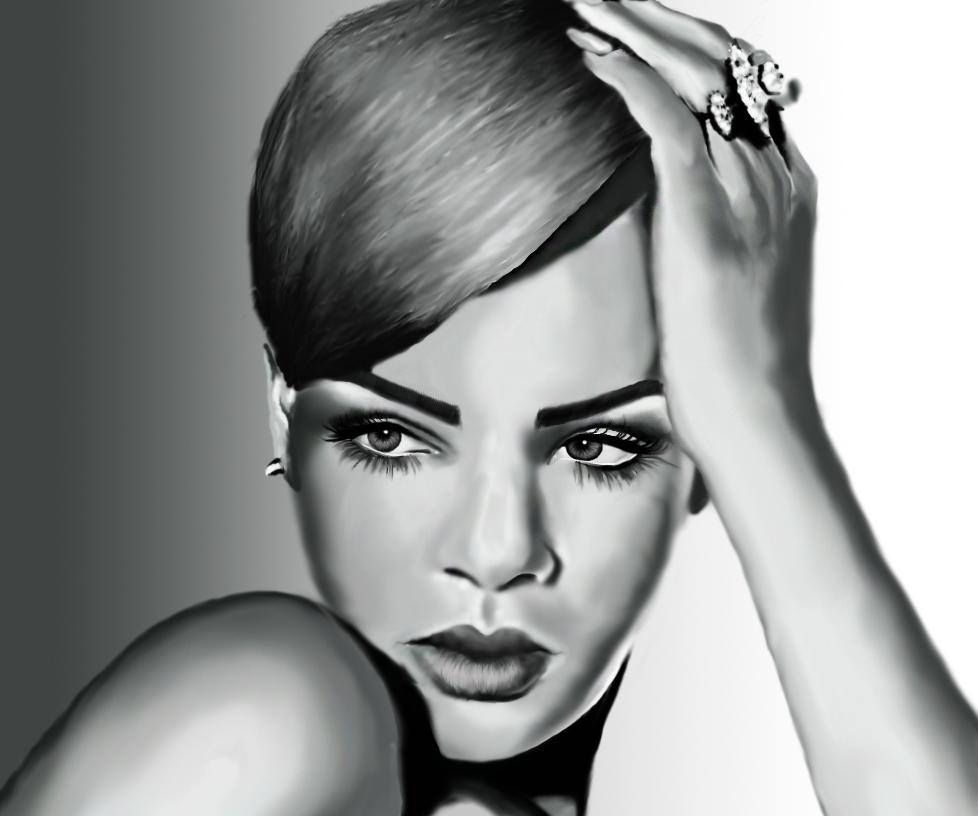 Фото Векторный портрет,  выполненный в программе Adobe Illustrator.  Потрачено времени -  5-7 часов.