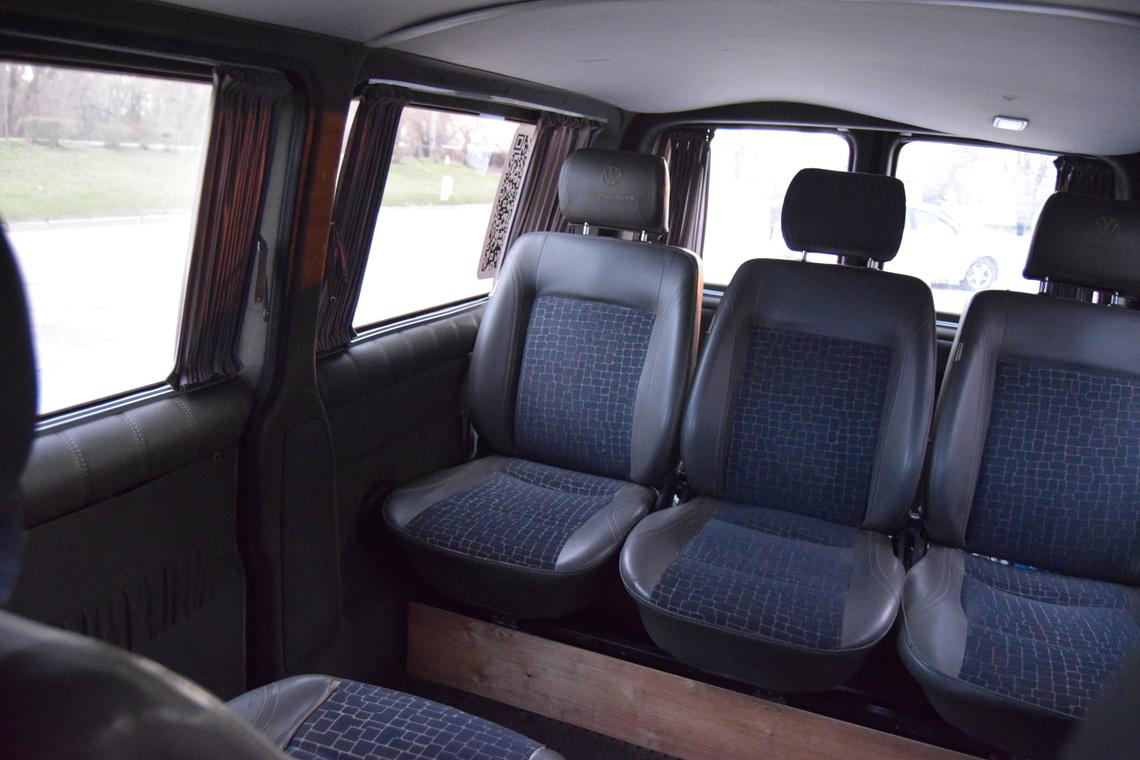 Фото Заказ микроавтобуса Volkswagen Transporter LONG (6, 7, 8 мест) 2