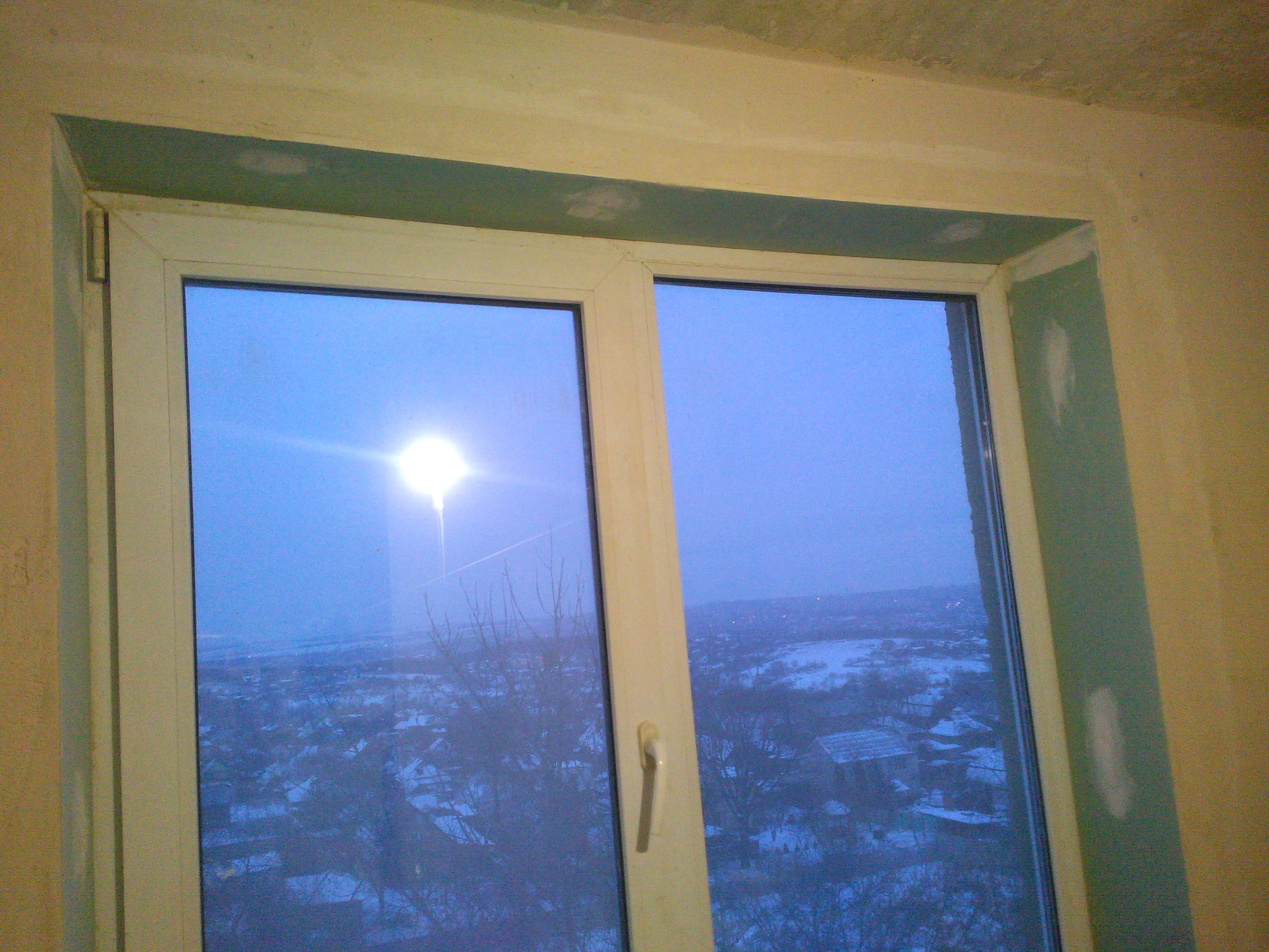 Фото Изготовление откосов окна