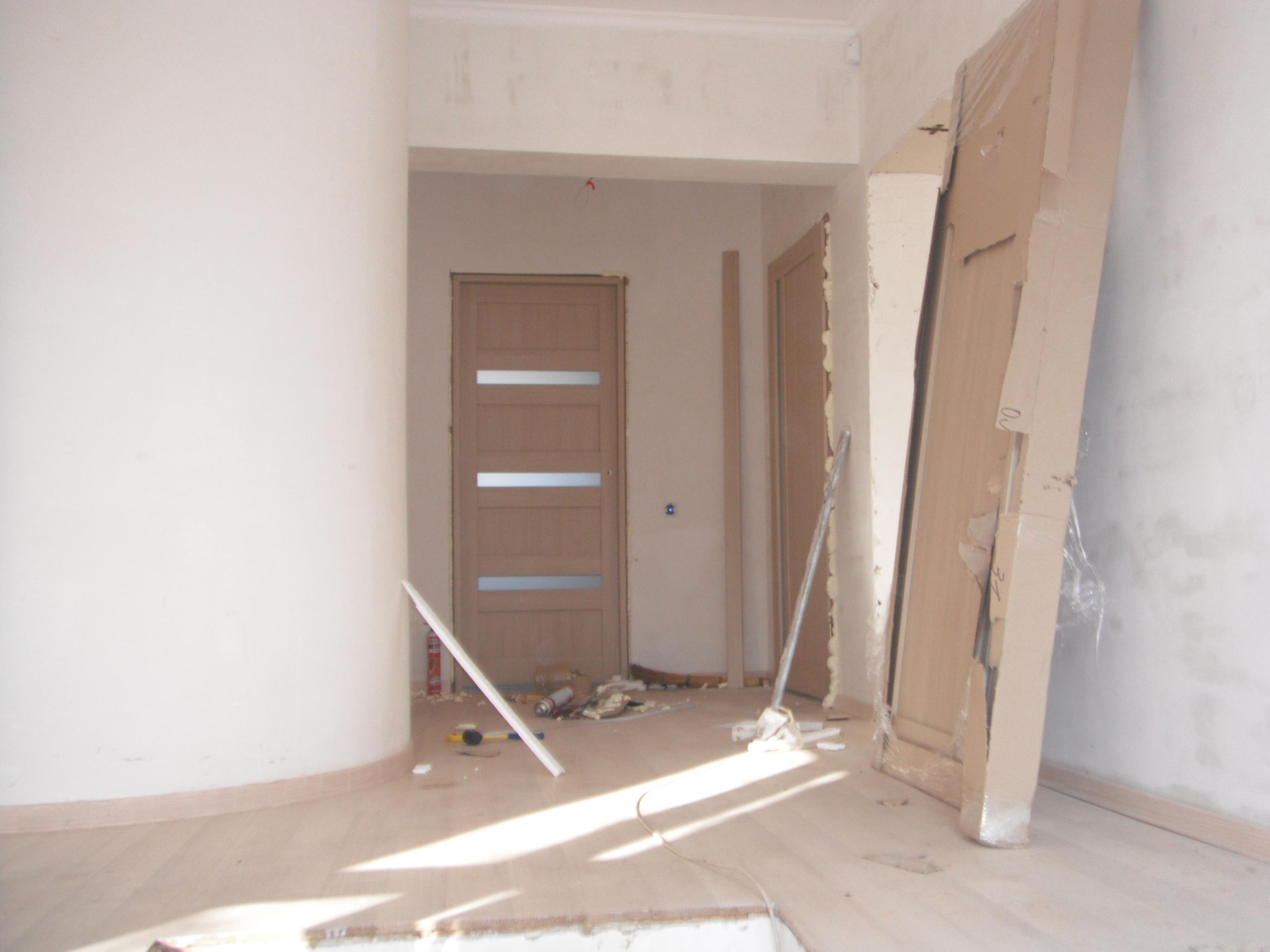 Фото установка дверей