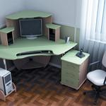 Сборка компютерных столов.