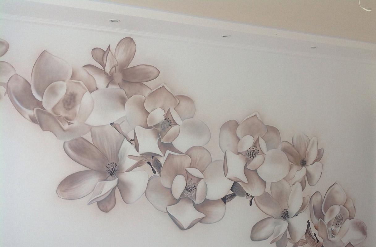 Фото Роспись-Граффити на стенах . Роспись выполняется Аэрографом. 3