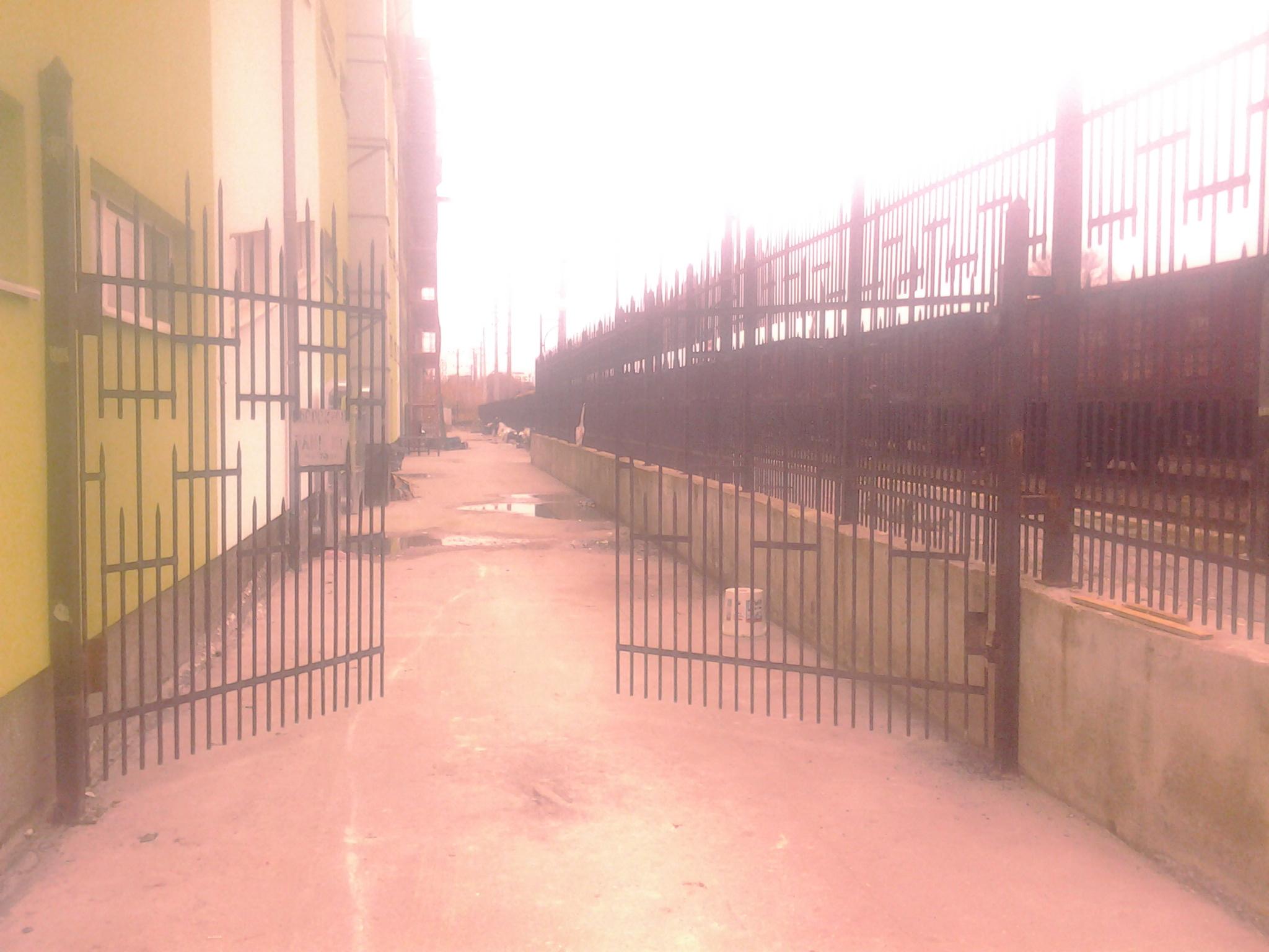 Фото Изготовление и установка ворот.