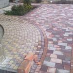 Укладка тротуарной плитки (ФЭМ)