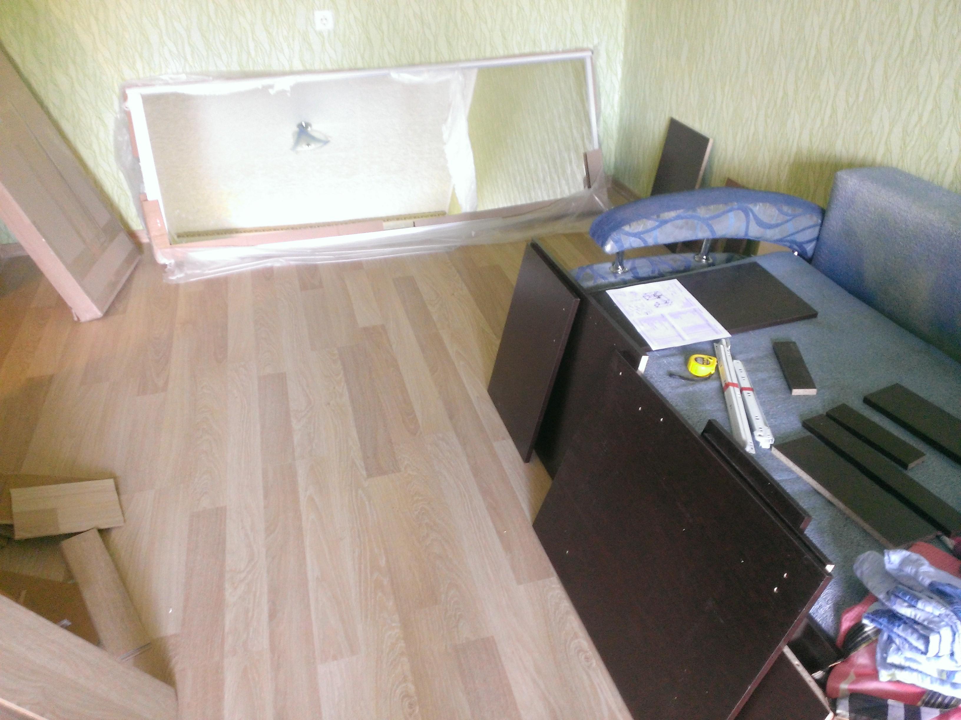 Фото Сборка шкафа и стола