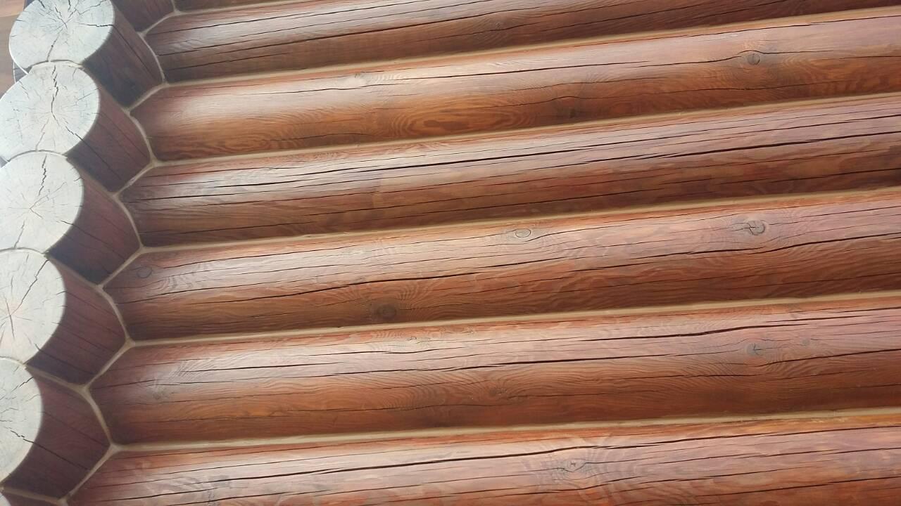Фото  Шлифовка, перешлифовка деревянных домов, срубов. 5