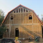 Строительство домов по экотехнологиям - саман, глина, солома