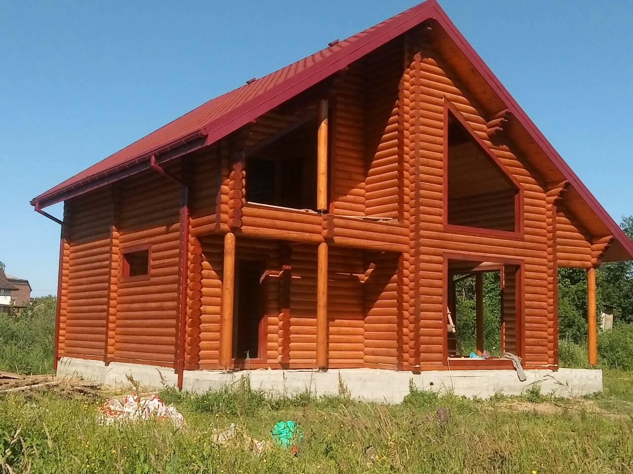 Фото  Шлифовка, перешлифовка деревянных домов, срубов. 3