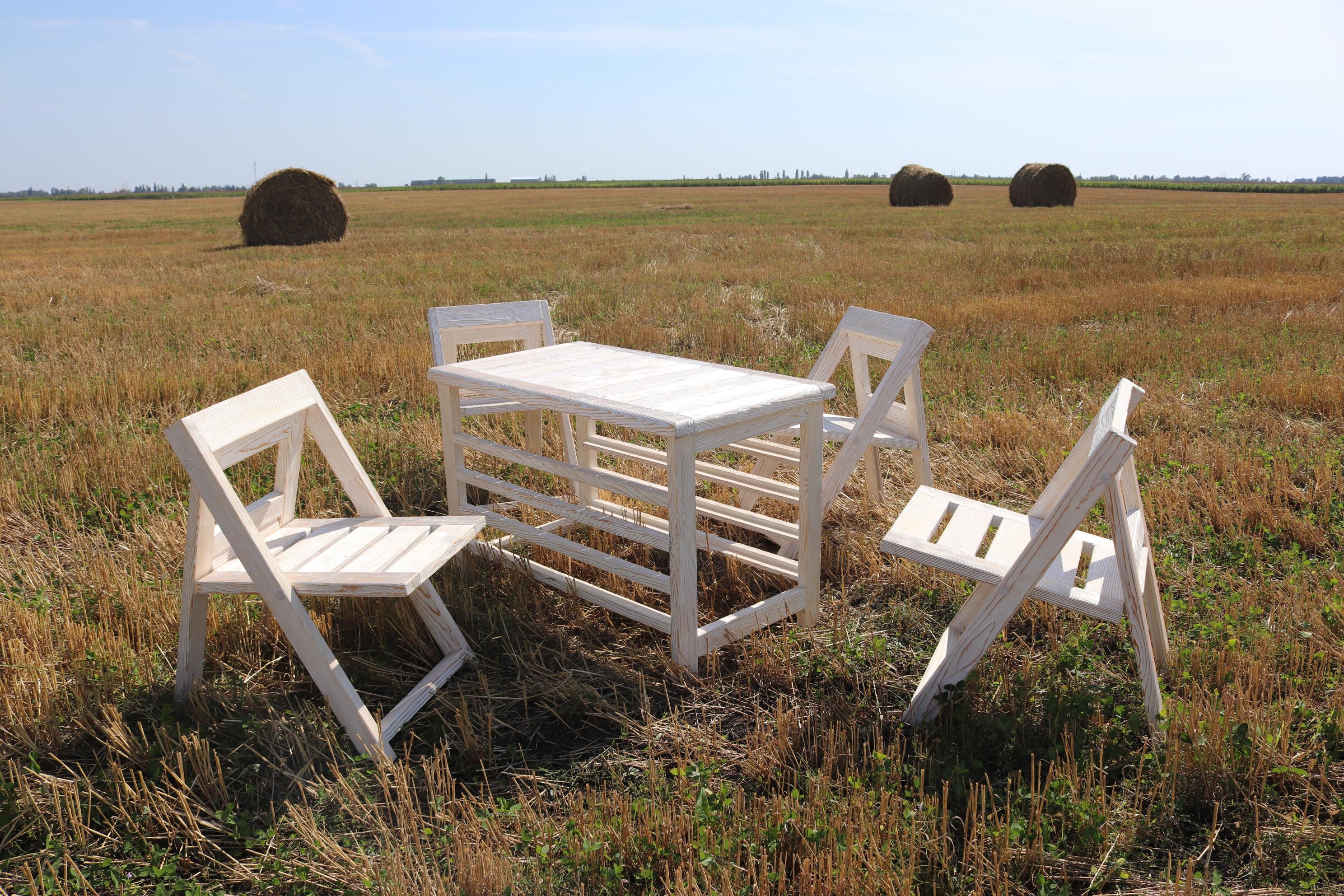 Фото Изготовление садовой мебели