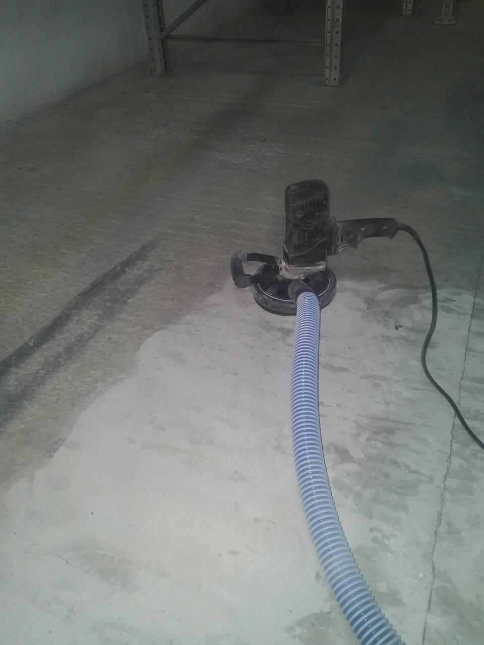 Фото Шлифование бетонного пола.