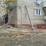 Реконструкция и восстановление аварийных зданий, балкон.