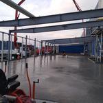 Промышленные бетонные полы. Монолитная плита перекрытия.