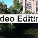 Монтаж видео: Монтаж, обрезка, склейка видео, наложение звука, титров