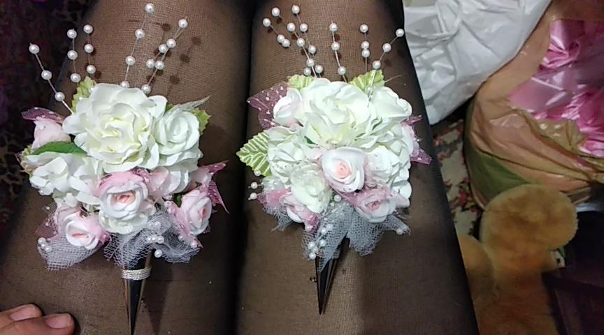 Фото Бутоньерки на свадьбу. Время выполнения 1 час.