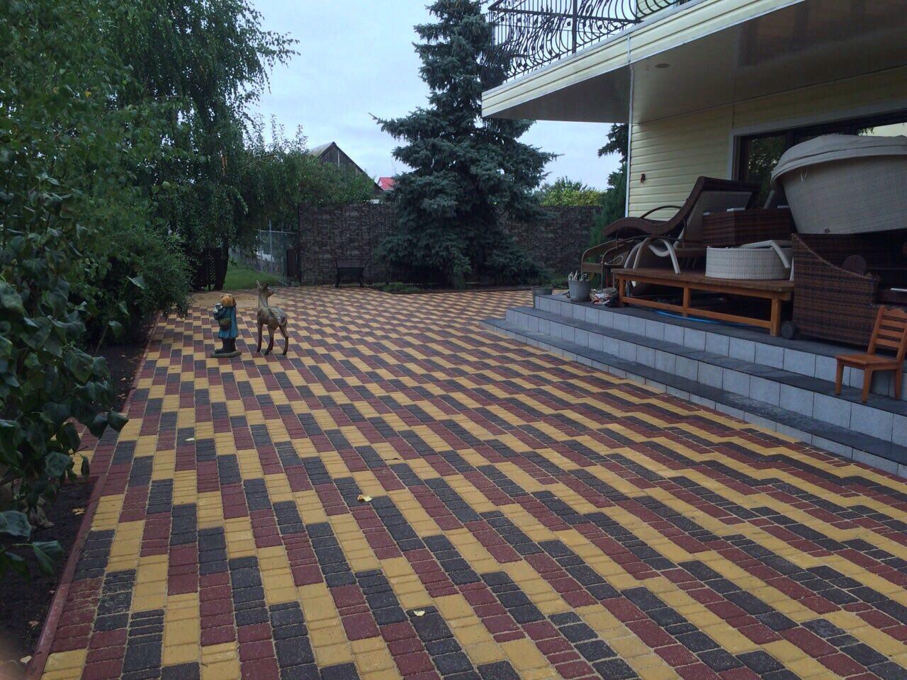 Фото Укладка и продажа тротуарной плитки по Киевской области.