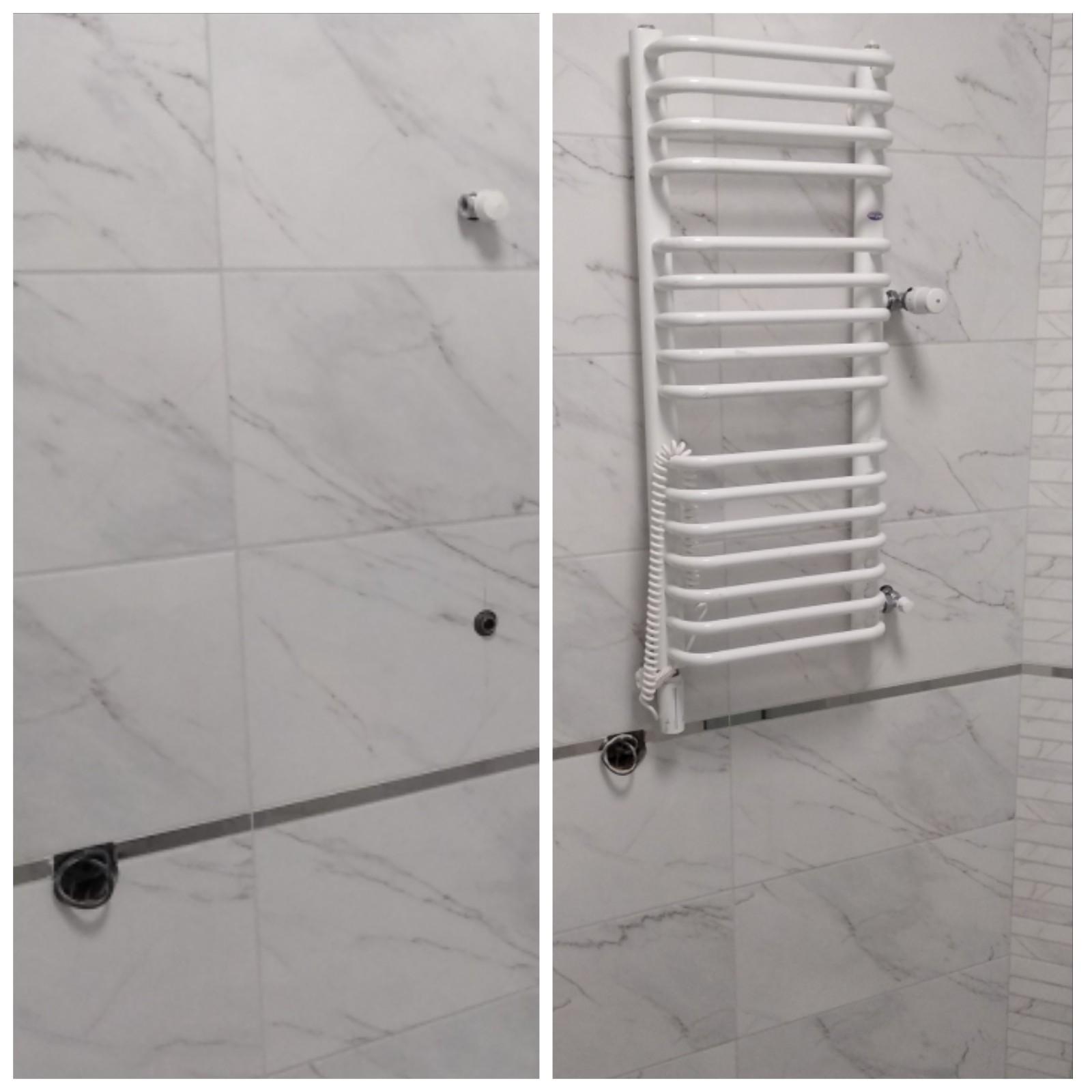 Фото Подключение и установка полотенцесушителя
