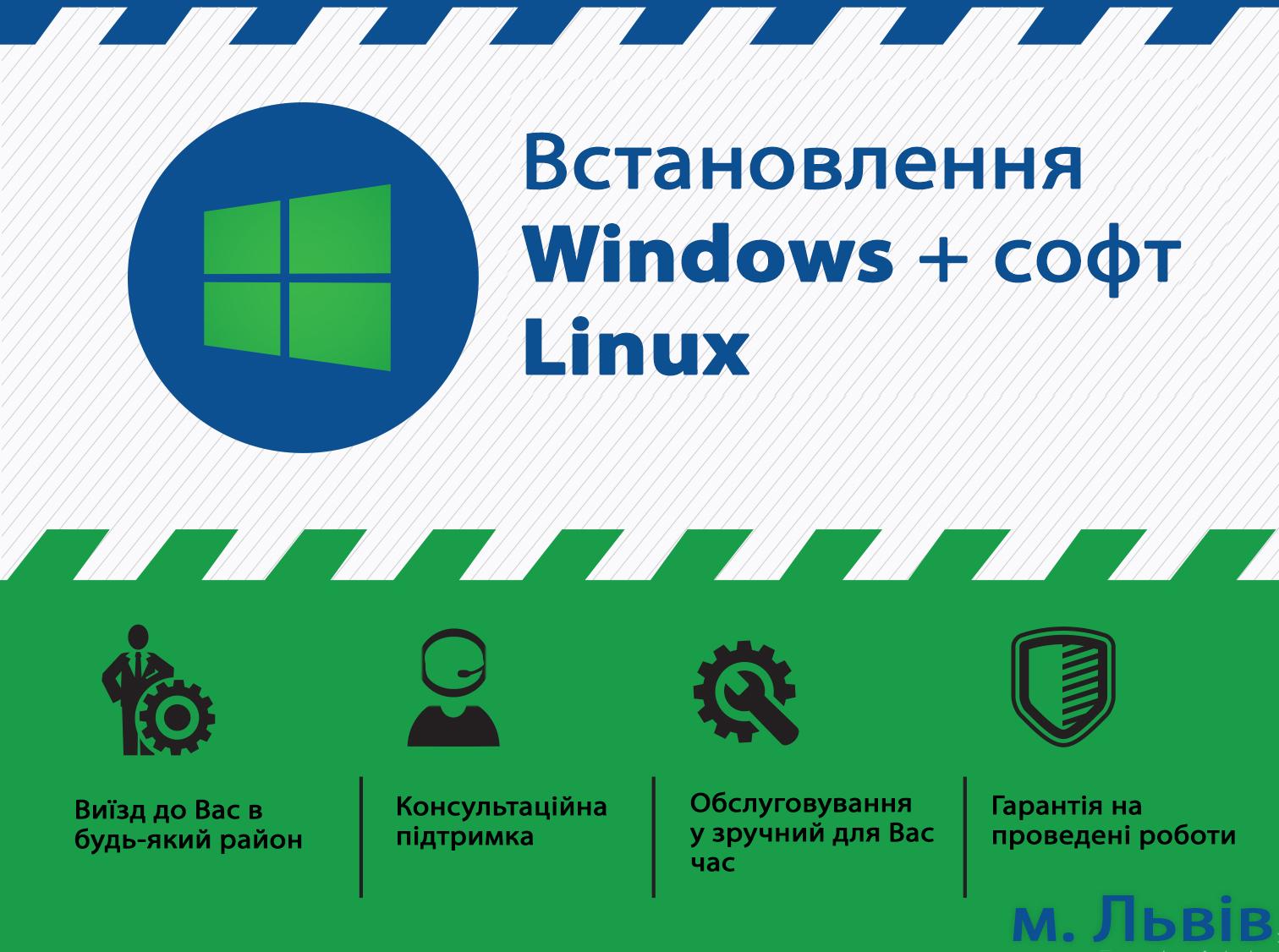 Фото Встановлення Віндовс (Windows, Linux), встановлення драйверів та софта 1