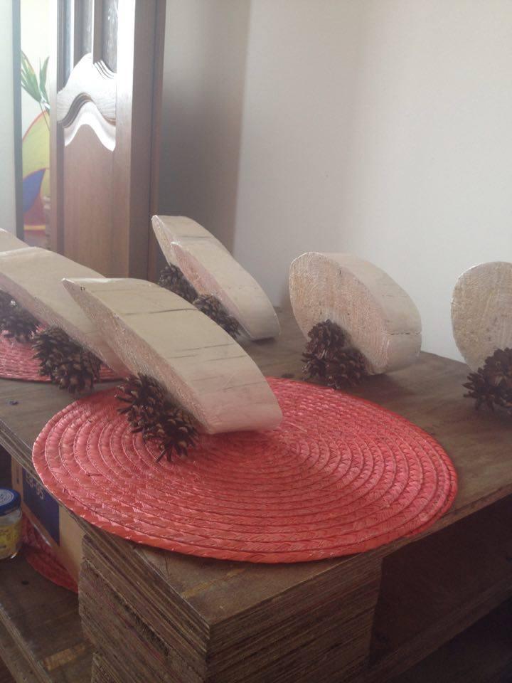 Фото Изготовлю номерочки на столы для свадьбы из дерева 4