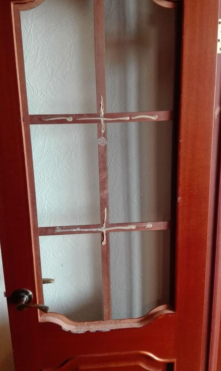 Фото установка стекла